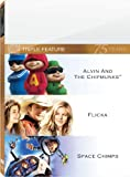 Cover art for  Alvin &amp; Chipmunks &amp; Flicka &amp; Space Chimps
