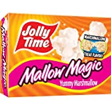 Jolly Time Mallow Magic Marshmallow Flavor Microwave Popcorn, 2-Count Boxes (Pack of 12) ~ Jolly Time