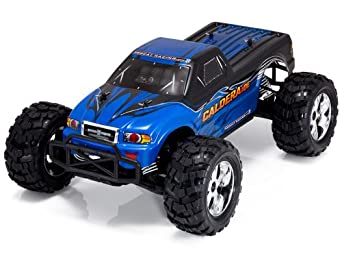 Redcat Racing Caldera 10E Brushless Electric Monster Truck, Blue, 1/10 Scale