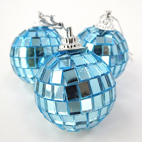 pack-of-12-40mm-ice-blue-mirror-disco-baubles-christmas-tree-decorations