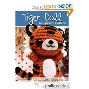 Amazon.com: Tiger Doll Amigurumi Pattern (Crochet Pattern Books) eBook