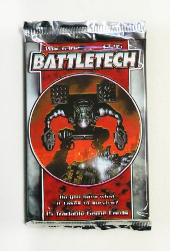 Battletech TCG Limited First-Edition Booster Pack - 1