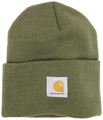 Carhartt Men's Watch Hat, Army Green, One Size