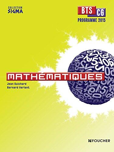 mathématiques ; bts cg (programme 2015)