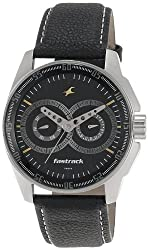 Fastrack Black Magic Analog Black Dial Mens Watch - NE3089SL02