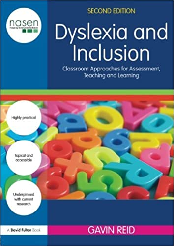 Book cover: dyslexia and inclusion