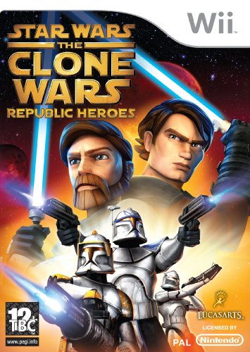 STAR WARS: THE CLONE WARS - REPUBLIC HEROES (WII) [IMPORT ANGLAIS] [JEU WII]