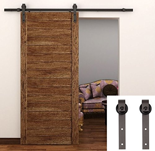tcbunny-country-steel-sliding-barn-wood-door-hardware-antique-style-brown