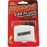 Hearos Earplugs Rock 'n Roll Series with Free Case, 1-Pair Foam