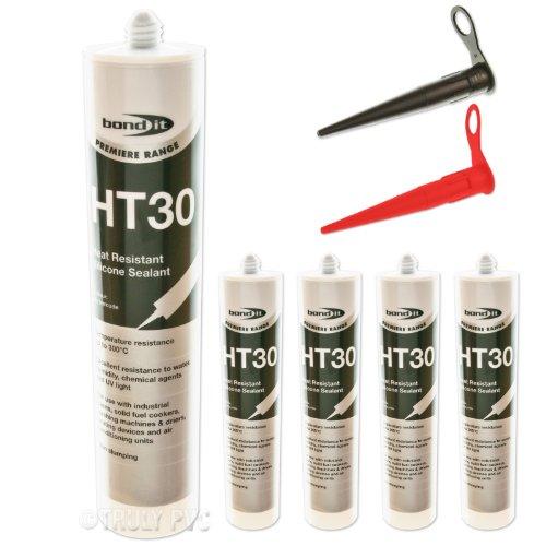 4-x-black-bondit-ht30-high-temperature-silicone-heat-resistant-use-in-ovens-engines-glass-ceramic-et