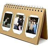 [Fuji Instax Mini Photo Album] --CAIUL Mini Album For Instax Mini 8 70 7s 25 50s 90 Film/ Pringo 231 Film/ Fujifilm Instax SP 1 Film/ Polaroid PIC-300P Film/ Polaroid Z2300 Film (TL-01,60 Photos)