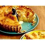 Alton Brown Style Black Pie Bird Blackbird Lead-Free Glazed Ceramic Pie Vent New
