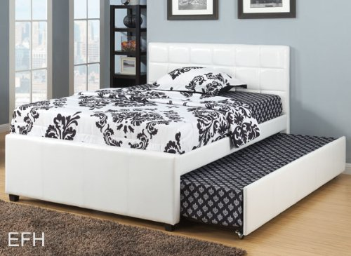 Beds With Leather Headboards 8889 front