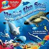 Under the Sea Activity Wall Calendar 2014 (with Premium Gift Bow)