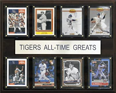 MLB Detroit Tigers All-Time Greats Plaque
