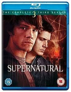 Supernatural Complete Series 3 [Reino Unido] [Blu-ray]