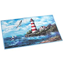 Lighthouse Non Skid Accent Rug