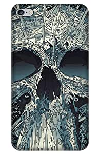 iessential skull Designer Printed Back Case Cover for Apple iPhone 6s