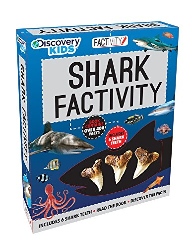Discovery Kids Shark Factivity Kit (Shark Fact Book compare prices)