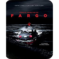 Fargo (20th Anniversary Edition Steelbook) [Blu-ray]