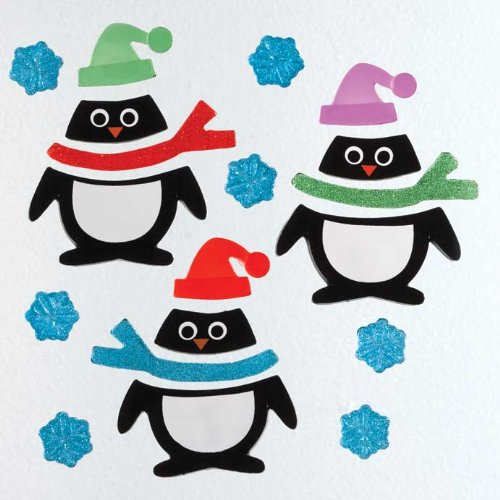 GelGems Penguin Pals Small Bag Gel Clings