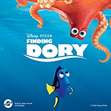 Finding Dory Audiobook by  Disney Press Narrated by Adam Verner
