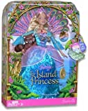 Barbie As The Island Princess 12 Inch Doll - Princess Rosella With Peacock Tail Accessory, Her Pet Raccoon And Hairbrush
