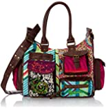 Desigual Bols London Med Bruselas Carry, Sac bandoulière