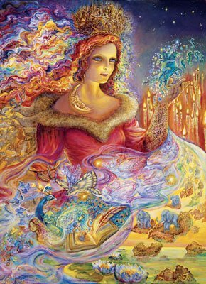 Josephine Wall Magic Jigsaw Puzzle Tin