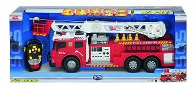 Dickie Spielzeug 203442889 - Feuerwehrauto, Länge 62 cm