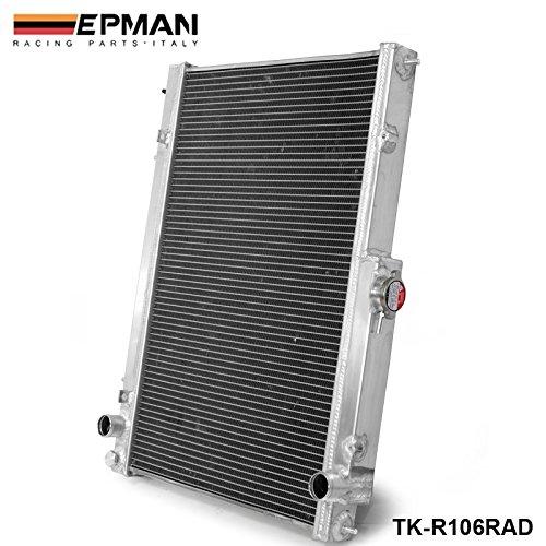 EPMAN 42MM 2 Row Aluminum Radiator For Nissan Skyline R33 R34 GTR GTST RB25DET MT (R34 Radiator compare prices)