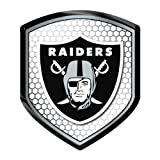 Oakland Raiders Car Truck SUV Motorcycle Bicycle Mailbox Trunk 3D Emblem Color Shield Reflector at Amazon.com