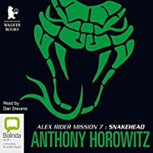 Snakehead Audiobook by Anthony Horowitz Narrated by Dan Stevens