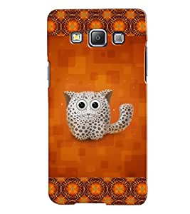 Fuson 3D Printed Cat Designer back case cover for Samsung Galaxy A7 A700F - D4153