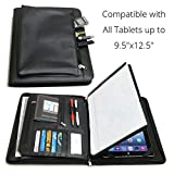 Universal Business Leather Portfolio for all tablets up to 9.5