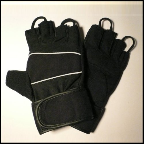 BRAND NEW AMARA GYM / WEIGHT LIFTING TRAINING GLOVES WITH WRIST SUPPORT *MEDIUM*