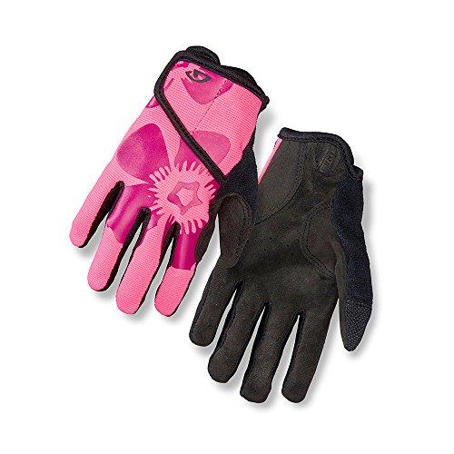 Giro DND Jr. II Cycling Gloves Bright Pink Flower Youth Medium (Cycling Gloves Medium compare prices)