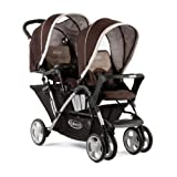 Graco - G6L96PEGE - Poussette Double - Stadium Duo - 2 tabliers - Pegasuspar Graco