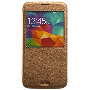 KLD Flip Cover for Samsung Galaxy S5 - Brown