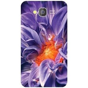 Samsung Galaxy Grand Back Cover - Blue Flower Designer Cases