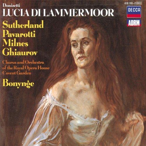 Lucia de Lammermoor (Sutherland,Pavarotti/Bonynge) - Donizetti - CD