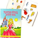Princess Sticker Activity Books (Pack of 6)