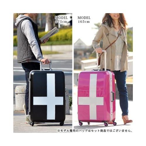 (イノベーター) innovator スーツケース(90L) inv68t 2.サーフブルーxイエロー