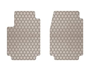 1958-1961 AUSTIN Healey Sprite Tan Hexomat 2 Piece Front Mat Set