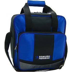 Amazon.com : BowlersParadise.com Single Tote Blue/Black ...