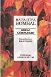 img - for Obras Completas - Bombal (Spanish Edition) book / textbook / text book