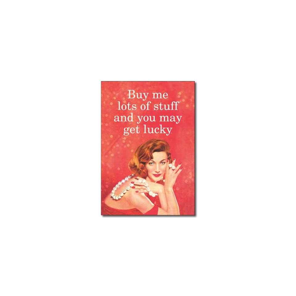 Buy Me Stuff Valentines Day Greeting Card