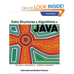Data Structures and Algorithms in Java: International Student Version