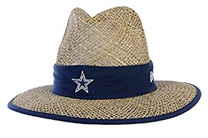 New Era Dallas Cowboys New Era Training Camp Straw Hat by New Era