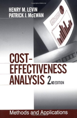 Cost-Effectiveness Analysis: Methods and Applications...